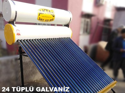 24 Lü galvaniz güneş enerjisi adana