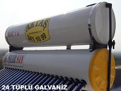 24 Tüplü Galvaniz Güneş Enerjisi Adana