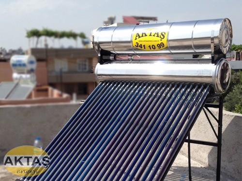 24 Vakum Cam Tüplü Krom Çelik Güneş Enerjiler Adana