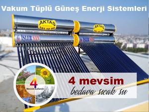 Vakum Tüplü Güneş Enerji Sistemleri