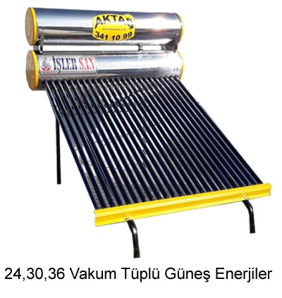 24,30,36 Vakum Tüplü Güneş Enerjiler Adana