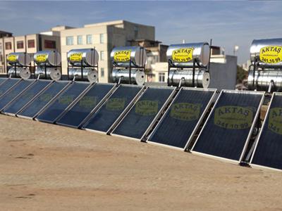 Adana da klasik model düz panelli güneş enerjisi
