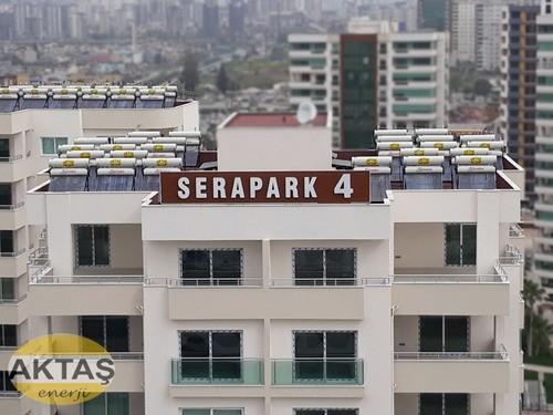 24 Vakum Tüplü Galvanizli Çelik Güneş Enerji Adana