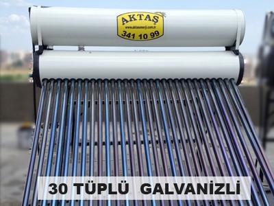 30 Tüplü Galvanizli Güneş Enerjisi Adana